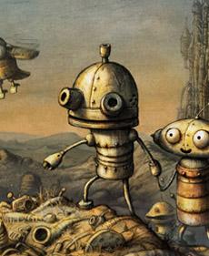Machinarium – přebal