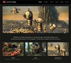 New website of Amanita Design!