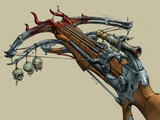 Magic crossbow