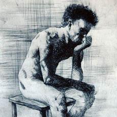 Sedící figura