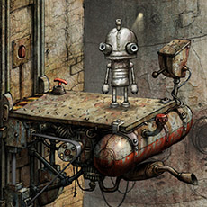 Digital ilustrations not only in Machinarium